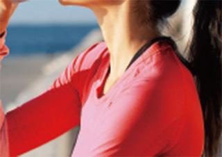 肌への負担軽減と速乾性